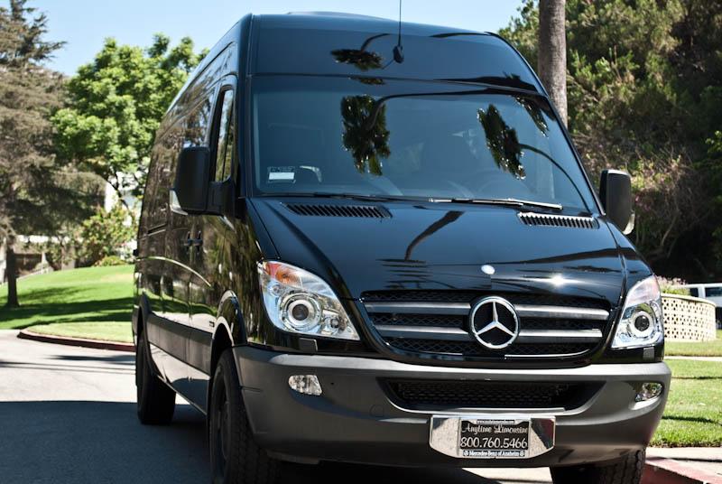 Exotic limousines fleets for Mercedes benz party bus