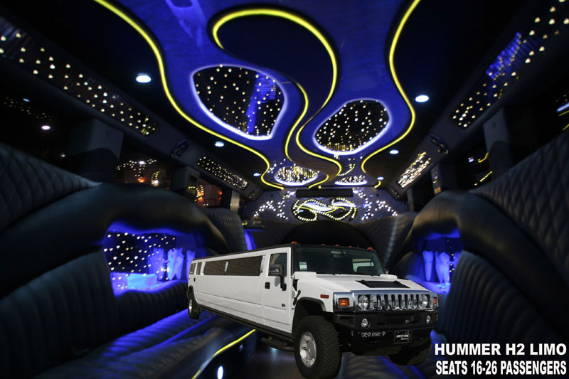 Hummer H Limo Los Angeles Exotic Limo - Pink hummer limo los angeles